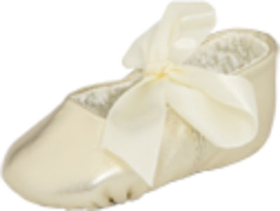 Baby Deer Sabrina Metallic Ballet Flat (Infant/Toddler)
