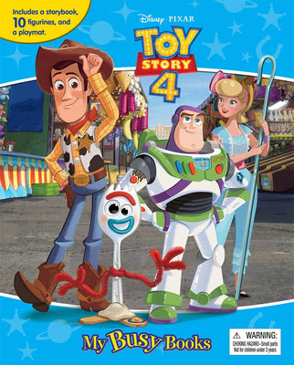 Disney Toy Story 4 My Busy Books