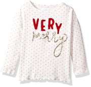 Mud Pie Baby Girls' Toddler Holiday Christmas Long Sleeve Tunic