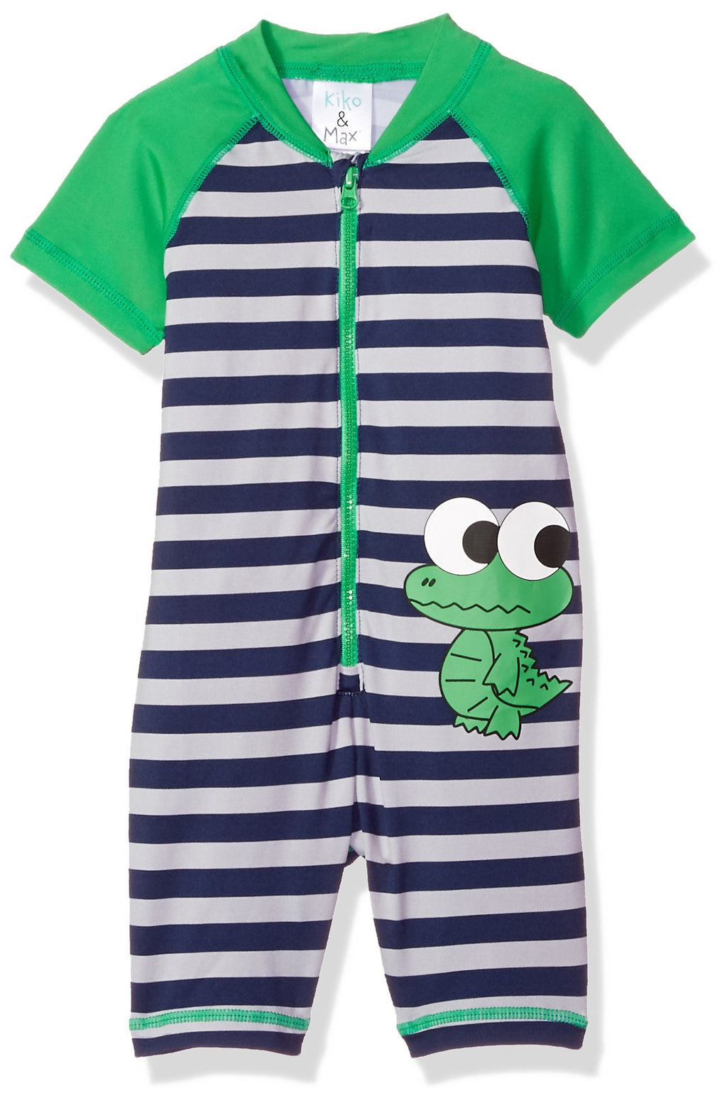 KIKO & MAX Boys' Baby Full Body Rash Guard Swim Suit Coverall