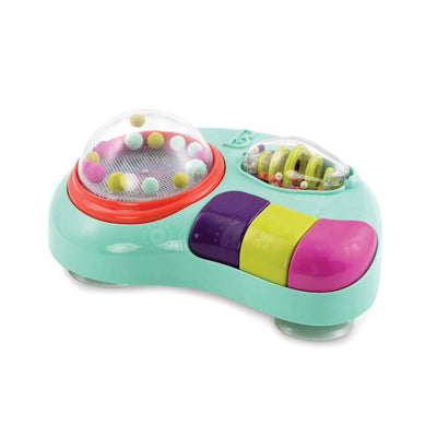 B. Toys - Whirly Pop - Lights & Music Station Baby Toy with Suction Cups - Non-Toxic