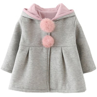 DORAMI Baby Girls Winter Autumn Cotton Warm Jacket Coat