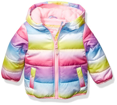 Voberry Newborn Baby Snowsuit Infant Winter Coat Hooded Zipper Jumpsuit Outwear Footed Romper Clothes