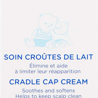 Mustela Cradle Cap Bundle, Natural Baby Shampoo and Cradle Cap Cream, 2 Items