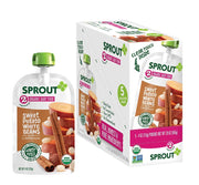 Sprout Organic Stage 2 Baby Food Pouches, Sweet Potato White Bean w/ Cinnamon, 4 Ounce (Pack of 5)