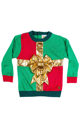 Tipsy Elves Baby Sweater - Cute Ugly Xmas Sweater for Infant