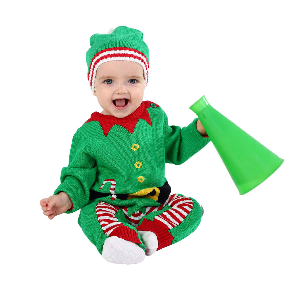 Udada Baby Christmas Sweater for Boys and Girls Outfits