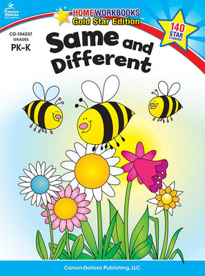 Same and Different, Grades PK - K (Home Workbooks)