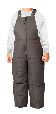Arctix Infant-Toddler Chest High Snow Bib Overalls, Charcoal, 2T