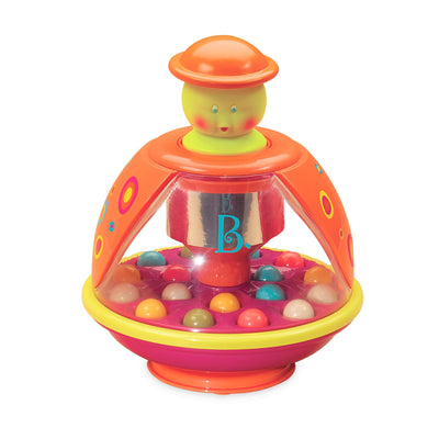 B. toys - Poppitoppy - Ball Popper Toy Tumble Top - Spinning Toys for Toddlers 1 Year +