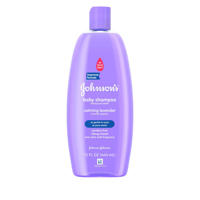 Johnson's Baby Gentle Shampoo With Calming Lavender, 15 Fl. Oz.