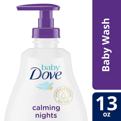 Dove Calming Nights Tip to Toe Baby Wash 13 oz
