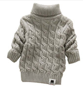 Nine Minow Boys Girls Turtleneck Sweaters Soft Warm Children's Sweater