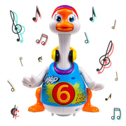Walking, Talking, Singing and Dancing Musical Hip Hop Goose TG656 - Cool Dancing Toy for Boys and Girls Kids or Toddlers - Gift for 1 2 3 4 5 Year Old Boy or Girl by ThinkGizmos (Trademark Protected)