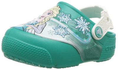 Crocs Kids' Fun Lab Frozen Light-Up Clog