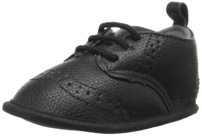 Little Me Pebbled Baby Boy Shoes Wingtip Dress Shoe