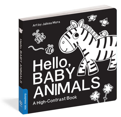 Hello, Baby Animals: A High-Contrast Book
