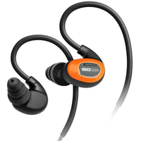ISOtunes PRO Bluetooth Earplug Headphones, 27 dB Noise Reduction Rating, 10 Hour Battery, Noise Cancelling Mic, OSHA Compliant Bluetooth Hearing Protector (Safety Orange)