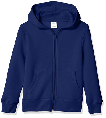 Amazon Essentials Boy's Fleece Zip-up Hoodie