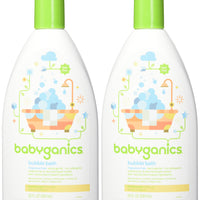 Babyganics Bubble Bath, Fragrance Free, 20oz, 2 Pack, Packaging May Vary