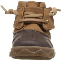 Sperry Boys' Icestorm Crib Ankle Boot, Tan/Brown, 4 Medium US Toddler