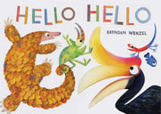 Hello Hello (Books for Preschool and Kindergarten, Poetry Books for Kids)