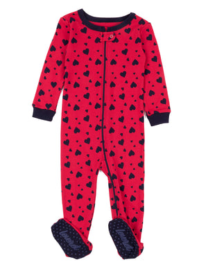 Leveret Kids Pajamas Baby Boys Girls Footed Pajamas Sleeper 100% Cotton (Size 6-12 Months-5 Toddler)
