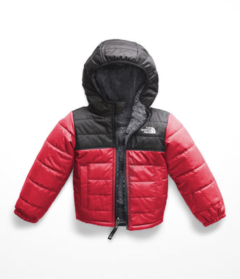 The North Face Toddler Boy's Reversible Mount Chimborazo Hoodie, TNF Red/TNF Black, 4T
