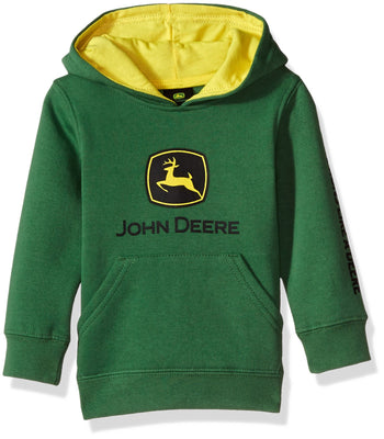 John Deere Tractor Infant Toddler Boys' Pullover Fleece Hoody Sweatshirt