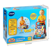 VTech Sit-to-Stand Learning Walker, Blue (Amazon Exclusive)