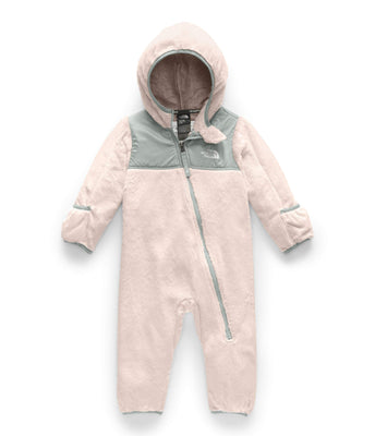 The North Face Infant OSO One-Piece, Purdy Pink/Meld Grey, 18-24 Months