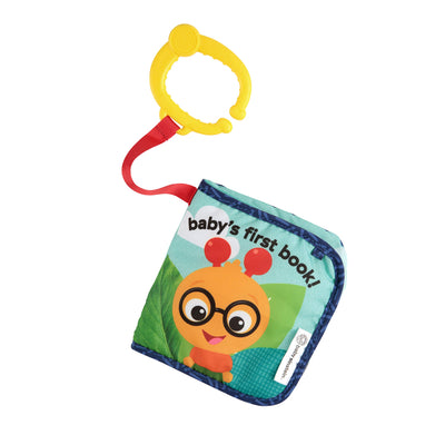 Baby Einstein Explore and Discover Soft Book Toy (Design May Vary)