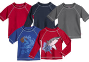 City Threads Baby Rash Guard in Long and Short Sleeves with SPF50+ Made in USA