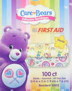 Care Bears Bandages - First Aid Supplies - 100 per Pack