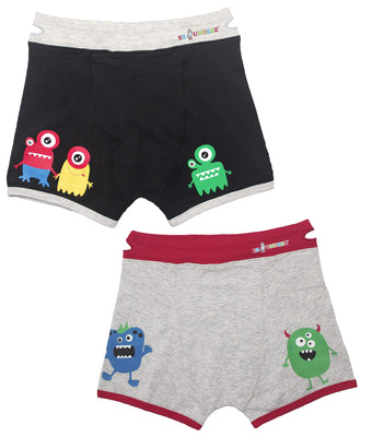 Ez Undeez Boys Boxer Briefs Toddler Training Underwear Easy Pull Up Handles