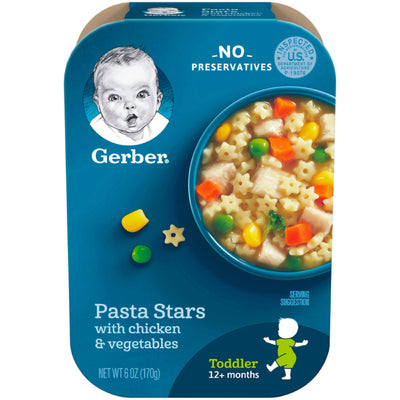 Gerber Graduates Lil' Meals - Pasta Stars with Chicken and Vegetables - 6 oz