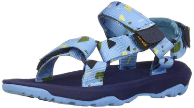 Teva Boys' T Hurricane XLT 2 Print Sport Sandal TERRAZO Blue, 6 Medium US Toddler