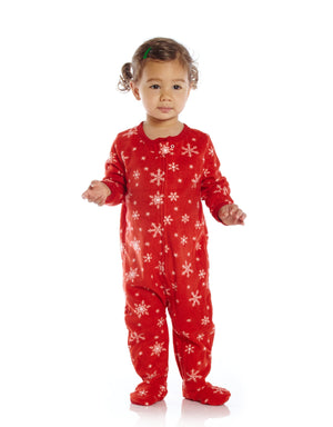 Leveret Fleece Baby Boys Girls Footed Pajamas Sleeper Kids & Toddler Christmas Pajamas (3 Months-5 Toddler)