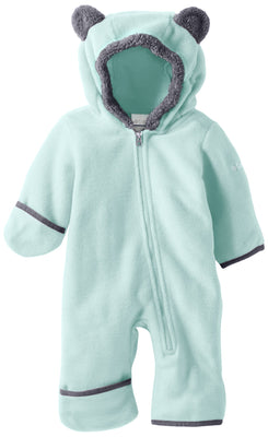 Columbia Baby Tiny Bear II Bunting, Warm Soft Fleece, Spray, 18-24 Months