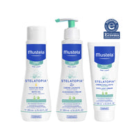 Mustela Bath Time Gift Set, Baby Skin Care, Available for Normal, Dry, Sensitive, and Eczema-Prone Skin