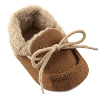 Luvable Friends Cozy Moccasin Slipper