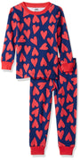 Amazon Essentials Baby Long-Sleeve Tight-fit 2-Piece Pajama Set