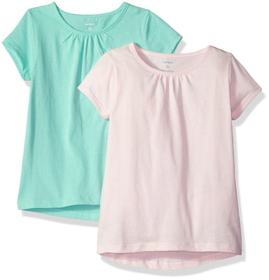 Carter's Baby Girls' 2-Pack Tees