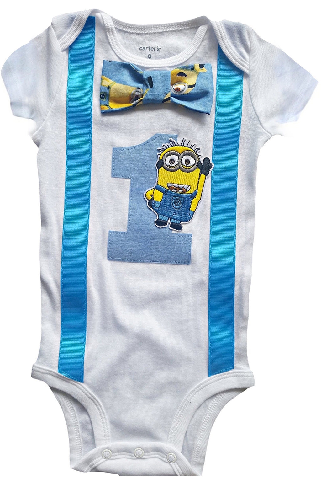 Perfect Pairz Baby Boys 1st Birthday Outfit - Bodysuit