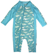 SwimZip UPF 50+ Boys Long Sleeve Sunsuit (Multiple Colors)