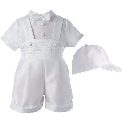Lauren Madison Baby-Boys Newborn Infant Three Piece Short Pant Outfit Set