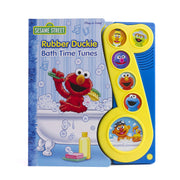 Sesame Street - Rubber Duckie Bath Time Tunes Sound Book - PI Kids