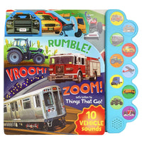 Rumble! Vroom! Zoom!: Let's Listen to Things That Go!