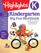 Kindergarten Big Fun Workbook (Highlights(TM) Big Fun Activity Workbooks)
