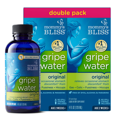 Mommy's Bliss - Gripe Water Original Double Pack - 8 FL OZ (2 Bottles)